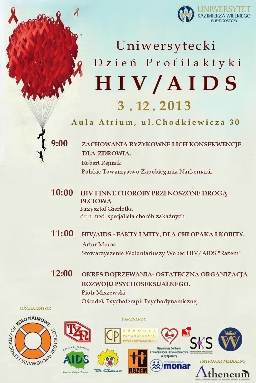Uniwersytecki Dzień Profilaktyki Hiv Aids