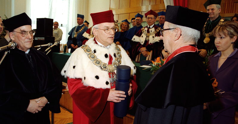 Uroczystość nadania tytułu doktora honoris causa