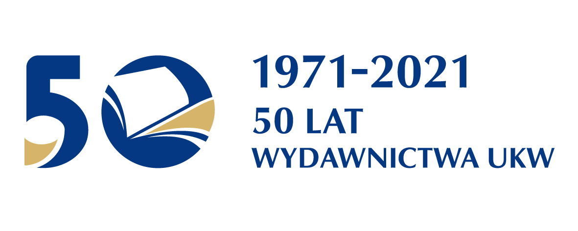 Logo 50-lecia Wydawnictwa UKW